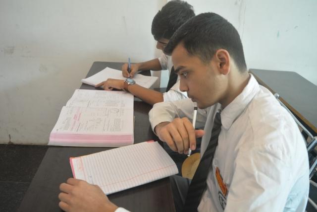 Dehradun Defence Academy students study