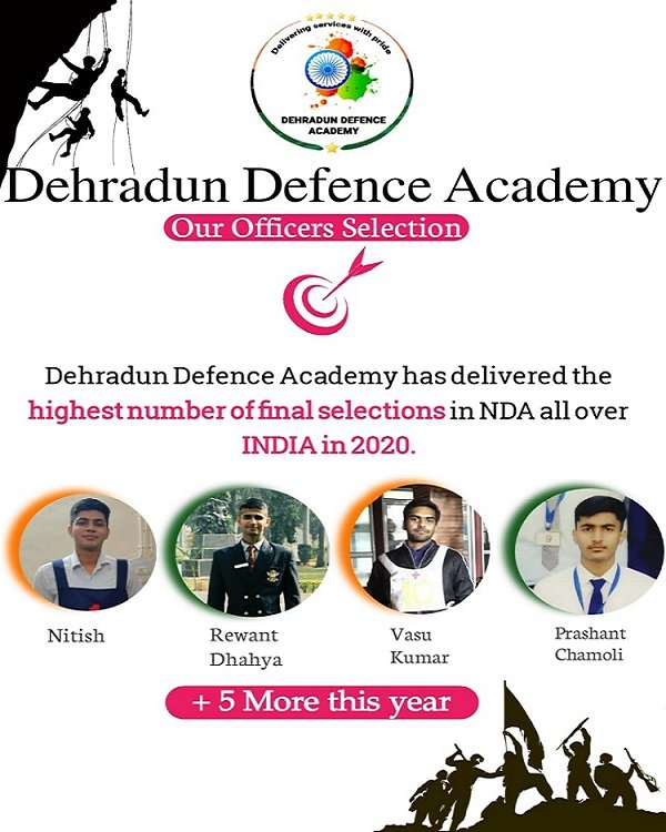 Dehradun Defence Academy- NDA Coaching in dehradun
